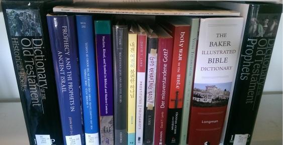 Shelf of DLamb Books (April 2016)