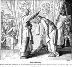 Nathan confronts David (Julius Schnorr von Carolsfeld)