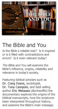 The Bible and You Documentary
