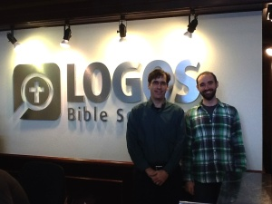 Dave and Josh Burdick Logos Sign 1.17.2014 2