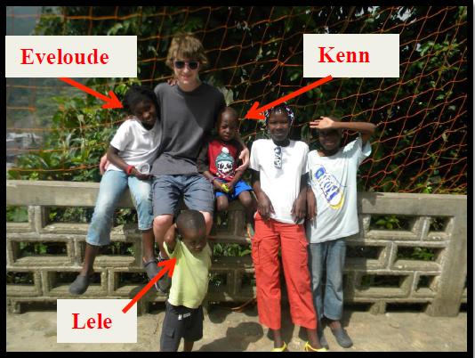Noah and kids 1